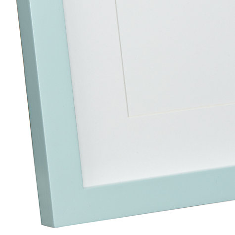 Buy John Lewis Baby Photograph Frame, Blue Online at johnlewis.com