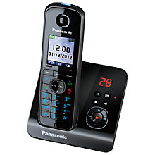 Buy Panasonic KX-TG8161EB Digital Telephone and Answering Machine, Single Online at johnlewis.com