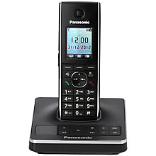 Buy Panasonic KX-TG8561EB Digital Telephone and Answering Machine, Single DECT Online at johnlewis.com