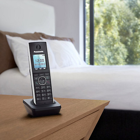 Buy Panasonic KX-TG8562EB Digital Telephone and Answering Machine, Twin DECT Online at johnlewis.com