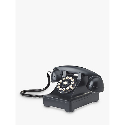Buy Wild & Wolf Series 302 Corded Phone, Black Online at johnlewis.com