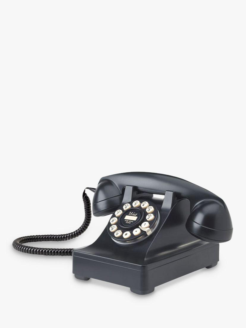 Wild & Wolf Wild & Wolf Series 302 Corded Phone, Black