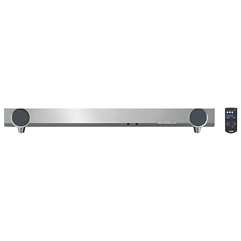 Buy Yamaha YAS-101 7.1 Sound Bar, Silver Online at johnlewis.com