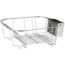 Buy House by John Lewis Dish Drainer, Stainless Steel Online at johnlewis.com