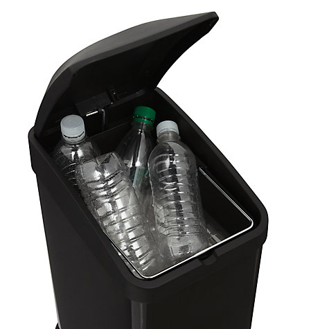 Buy John Lewis Slim Pedal Bin, 15L Online at johnlewis.com