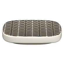 Buy Orla Kiely Linear Stem Soap Dish, Steel Online at johnlewis.com