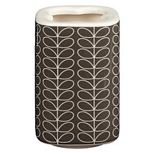 Buy Orla Kiely Linear Stem Toothbrush Holder, Steel Online at johnlewis.com