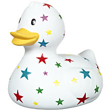 Buy John Lewis Large Bathroom Painter Star Rubber Duck, Multi Online at johnlewis.com