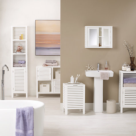 Buy John Lewis Newport Double Towel Cupboard Online at johnlewis.com
