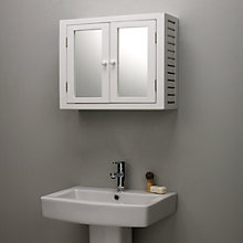 Buy John Lewis Newport Double Mirrored Bathroom Cabinet Online at johnlewis.com