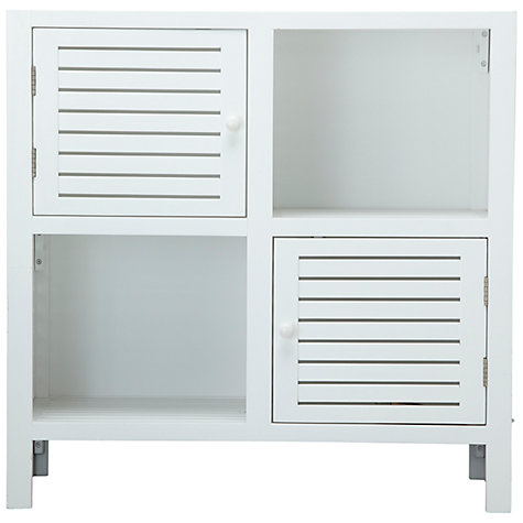 Buy John Lewis Newport Two Door Cube Cupboard Online at johnlewis.com