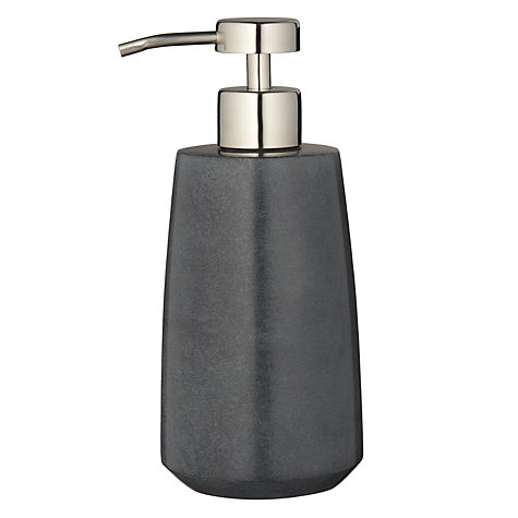 Buy John Lewis Soapstone Soap/Lotion Pump Dispenser, Grey Online at johnlewis.com