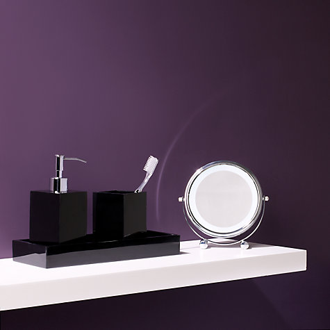 Buy John Lewis Ebony Tray, Black Online at johnlewis.com