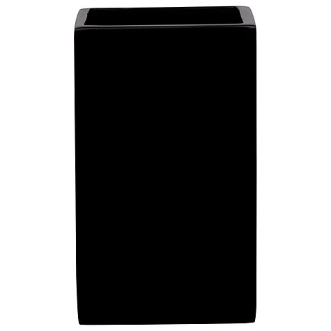 Buy John Lewis Ebony Tumbler, Black Online at johnlewis.com