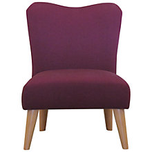 Buy John Lewis Lyric Chair, Plum Online at johnlewis.com