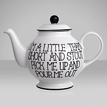 Buy Fairmont and Main I'm a Little Teapot, 1L Online at johnlewis.com