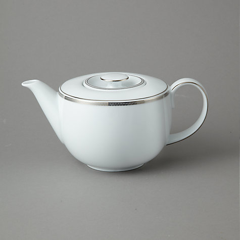 Buy John Lewis Platinum Dot Teapot, 1L Online at johnlewis.com