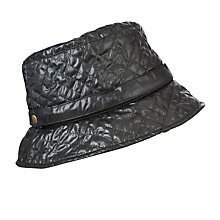 Buy John Lewis Quilted Bucket Fleece  Rain Hat Online at johnlewis.com