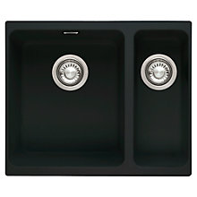 Buy Franke Kubus KBG 160 Sink with Right Hand Bowl Online at johnlewis.com