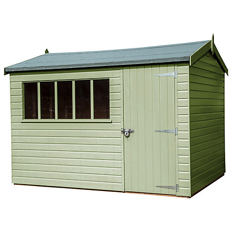 Buy Crane FSC Windsor Garden Shed, 3 x 3.6m Online at johnlewis.com