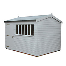 Buy Crane FSC Balmoral Garden Shed, 3 x 3.6m Online at johnlewis.com