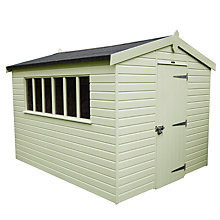 Buy Crane Kensington Garden Shed, 3 x 3.6m Online at johnlewis.com