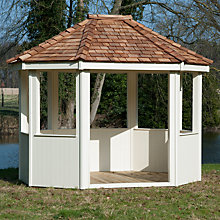 Buy Crane 3 x 3m Gazebo, FSC-certified (Scandinavian Redwood) Online at johnlewis.com