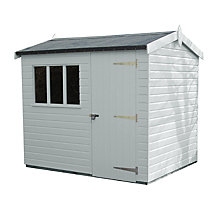 Buy Crane Windsor Garden Shed, 1.8 x 2.4m Online at johnlewis.com