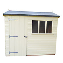 Buy Crane Balmoral Garden Shed, 1.8 x 2.4m Online at johnlewis.com