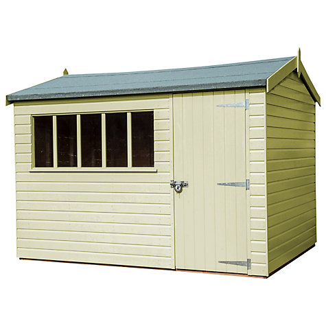 Buy Crane FSC Windsor Garden Shed, 1.8 x 3m Online at johnlewis.com