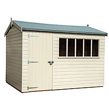 Buy Crane 1.8 x 3m Balmoral Garden Shed, FSC-certified (Scandinavian Redwood) Online at johnlewis.com