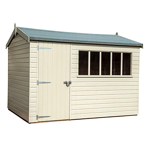 Buy Crane Balmoral Garden Shed, 1.8 x 3m Online at johnlewis.com
