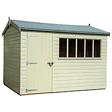 Buy Crane FSC Balmoral Garden Shed, 1.8 x 3m Online at johnlewis.com