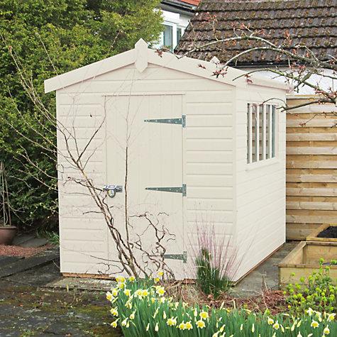 Buy crane 1 8 x 3m kensington garden shed fsc certified for Garden shed qatar