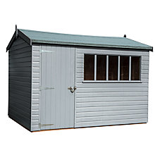 Buy Crane Balmoral Garden Shed, 2.4 x 3m Online at johnlewis.com