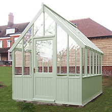Buy Crane  2.4 x 3m Greenhouse, FSC-certified (Scandinavian Redwood) Online at johnlewis.com