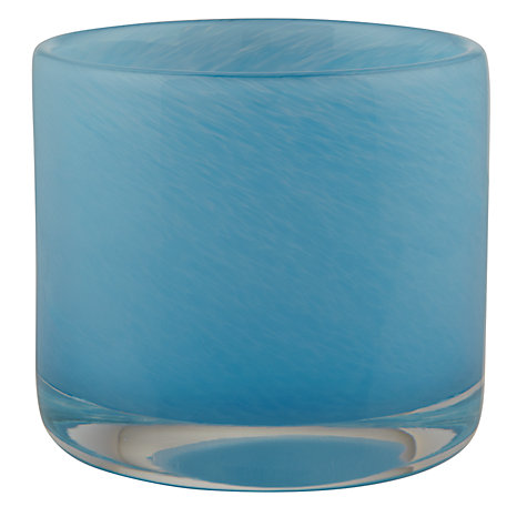 Buy John Lewis Glass Tealight Holder Online at johnlewis.com