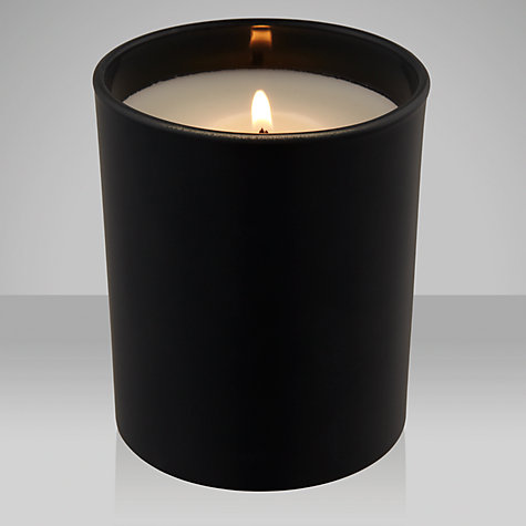 Buy House by John Lewis Black Amber Scented Candle Online at johnlewis.com
