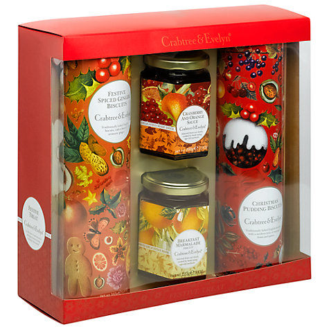 Buy Crabtree & Evelyn Festive Treat Gift, 787g Online at johnlewis.com