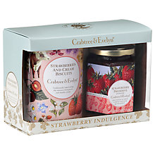 Buy Crabtree & Evelyn Strawberry Indulgence Biscuit and Preserve Gift Set, 327g Online at johnlewis.com