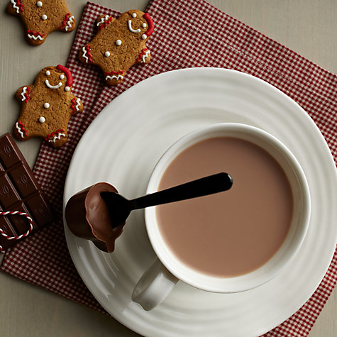 Buy House Of Dorchester Gingerbread Hot Chocolate Stirrer, 30g Online at johnlewis.com