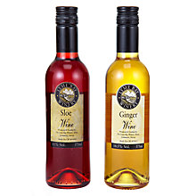 Buy Lyme Bay Sloe Wine and Ginger Wine Gift Set, 750ml Online at johnlewis.com
