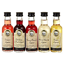Buy Lyme Bay Mini Liqueur Selection, 25ml Online at johnlewis.com