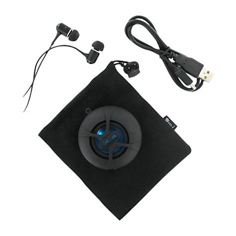 Buy XMI X-Mini Happy MP3 Capsule Speaker, Black Online at johnlewis.com