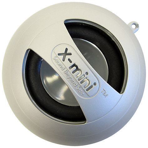Buy XMI X-Mini II Capsule Speaker, Silver Online at johnlewis.com