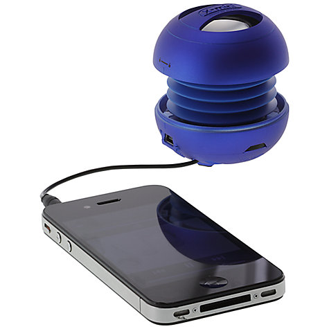Buy XMI X-Mini II Capsule Speaker, Blue Online at johnlewis.com