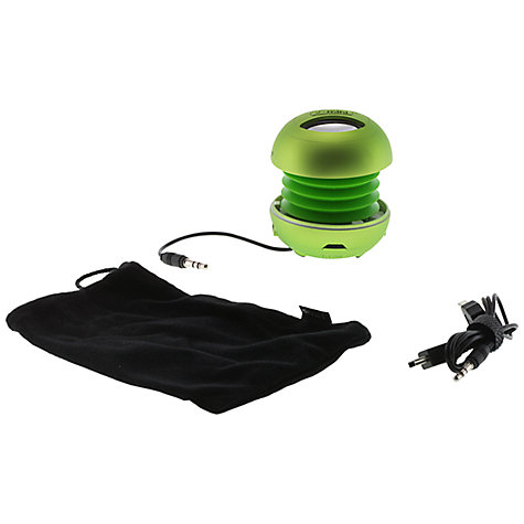 Buy XMI X-Mini II Capsule Speaker, Green Online at johnlewis.com
