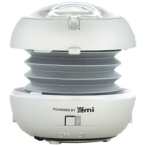 Buy XMI X-Mini v1.1 Capsule Speaker, Silver Online at johnlewis.com