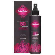 Buy Fake Bake 60 Minute Tan Liquid, 236ml Online at johnlewis.com