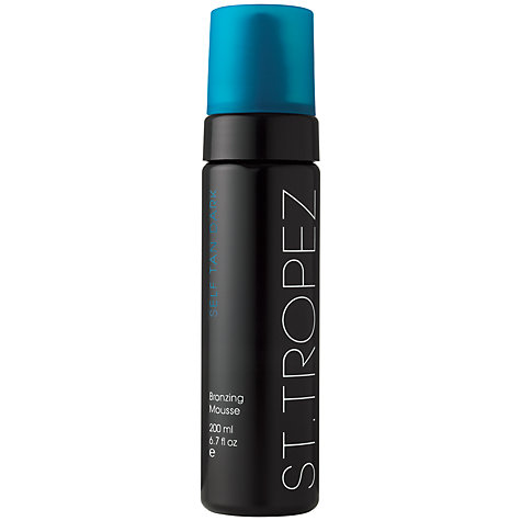 Buy St Tropez Dark Bronzing Mousse, 200ml Online at johnlewis.com